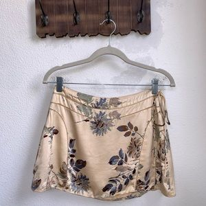NWOT Abercrombie & Fitch | Silk Floral Skirt